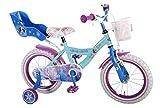 Kinder Fahrrad Disney Frozen - Die Eiskönigin - 14 Zoll mit Rücktrittbremse - 95% vormontiert