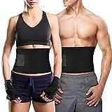 Bauchweggürtel TOPELEK Hot Belt Rückenbandage für Damen und Herren Bauchgürtel