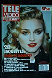 TLE VIDEO SCOPE 14 JUILLET 1990 COVER MADONNA