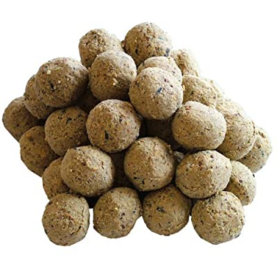 300 Un-Netted Fat Balls For Wild Birds (150 pack x 2) by Twootz