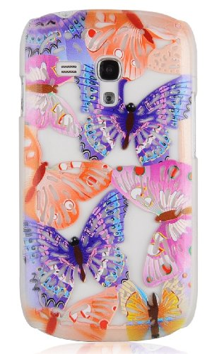 JAMMYLIZARD   3D Schmetterling Back Cover Hülle für iPhone 5 / 5S, NINA ESTRIADA PANDORA