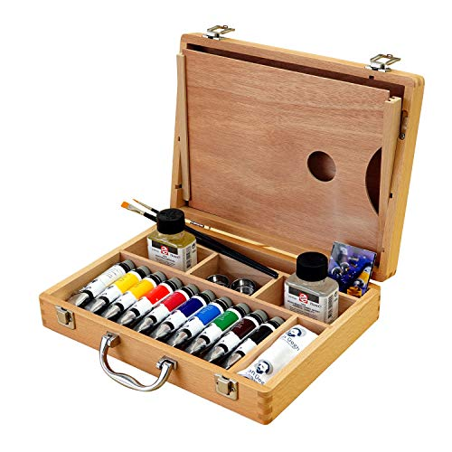 Talens - Caja Basic óleo Van Gogh