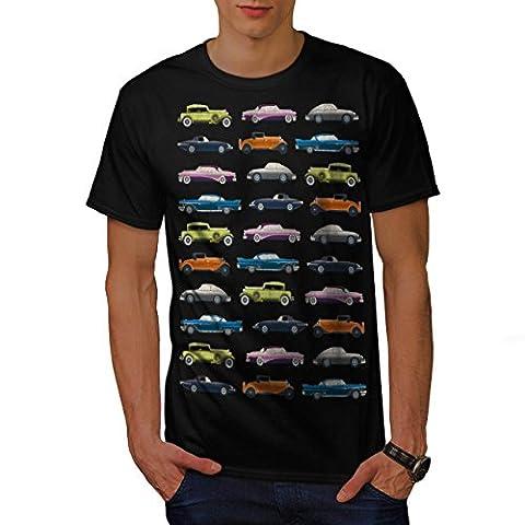 Classic Old Pattern Car Men M T-shirt | Wellcoda