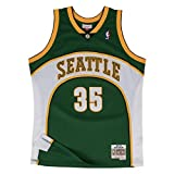 Mitchell & Ness Kevin Durant #35 Seattle SuperSonics 2007-08 Swingman NBA Trikot Grün, S