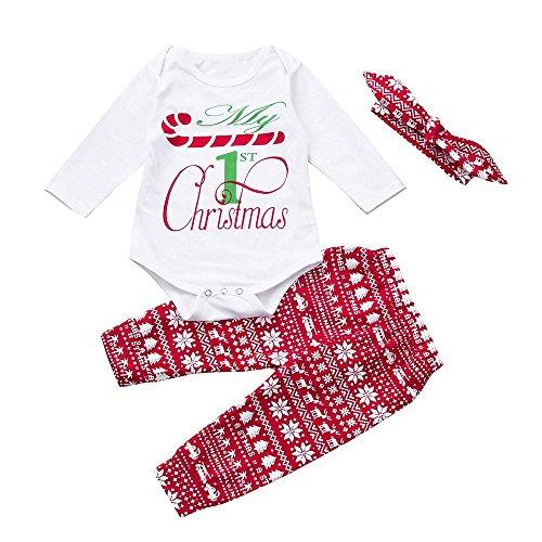 QUICKLYLY 3pcs Recién Nacido Infantil Bebé Chico