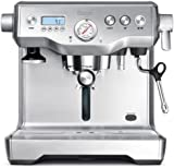 Sage by Heston Blumenthal BES920UK the Dual Boiler Espresso Machine - Silver