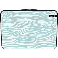 "Coperchio Neoprene Laptop Netbook PC 13.3 ""pollici - Stampa Animale Blu 10 by Aloke Design"