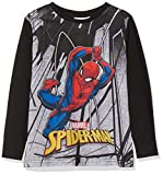 Spiderman Marvel Cityscape, Camiseta para Niños, Gris (Grey), 7-8...