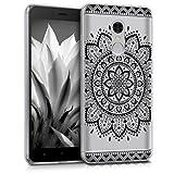kwmobile Coque en TPU pour Xiaomi Redmi Note 4/Note 4X Motif Fleur aztèque...