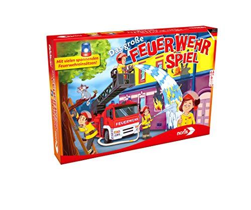 Noris 606011631 - Das große Feuerwehr Spiel