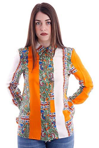 Tory Burch Printed Silk Shirt, Damen, Taglia 4.