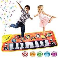 8 Instruments Musical Carpet Baby Floor Piano Keyboard Mat Children