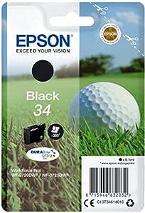 Epson Original Singlepack Schwarz 34 Golfball DURABrite Ultra Ink