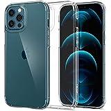 Spigen Ultra Hybrid Back Cover Case Designed for iPhone 12 Pro Max - Crystal Clear