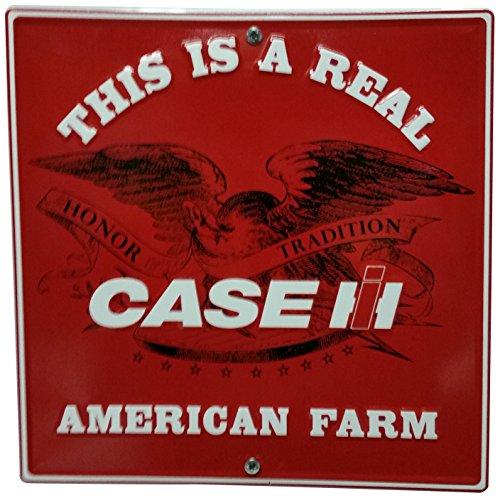 S&D Case IH American Farm Metall Schild, 12durch 30,5cm - Case Ih International