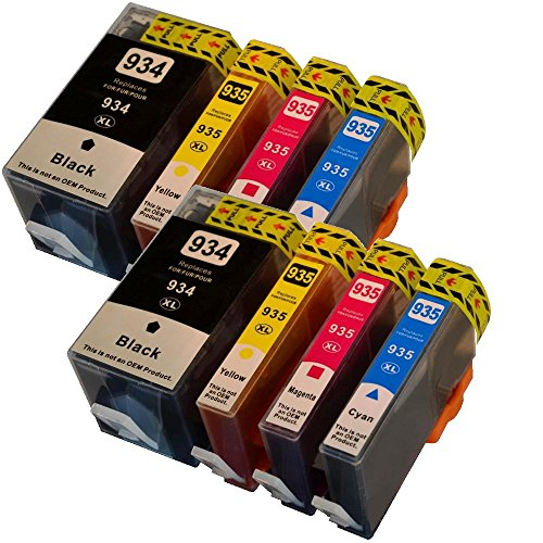 Preisvergleich Produktbild 8 Drucker Patronen für HP 934 XL 935 XL für Pro 6800 Series Pro 6830