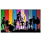 Dabobo Pittura Diamante,Grandi,Trapano Completo, Te Grande Sailor Moon 5D Punto Croce Ricamato Imitazione Hobb y Diamond Painting Kits Decor per Casa e Pareti,Trapano Quadrato,60x120cm
