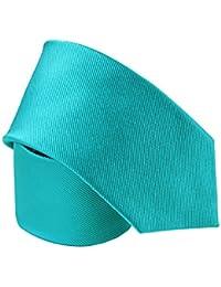 Cravate soie Little Club Bleu Bondi