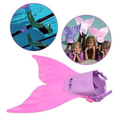 Schwimmflossen Schuhe Wie Eine Meerjungfrau für Der Kinder Zum Schwimmen/Tauchen/Spielen Kleinkind-schwimmen Schuhe