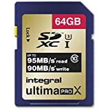 Integral INSDX64G10-95/90U1 Carte SD 64 GB