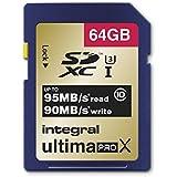 Integral INSDX64G10-95/90U1 Carte SD 64 GB