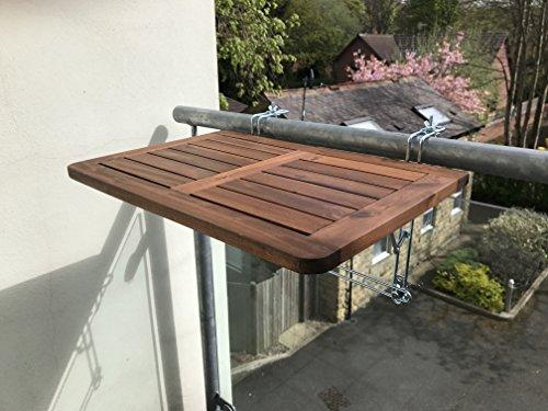 Click deck tavolo da balcone in legno massiccio tavolo - Ringhiera giardino ...