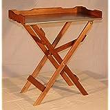 Mesa de siembra mesa auxiliar de madera, cinc), color marrón B78X T39X 82cm