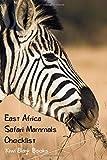 East Africa Safari Mammals Checklist