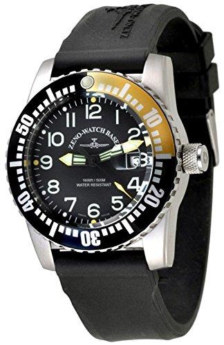 Zeno-Watch Orologio Donna - Airplane Diver Quartz Numbers -...