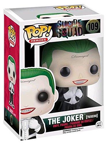 funko pop suicide squad Funko Pop! Suicide Squad #109 The Joker (tuxedo) Exclusive by FunKo