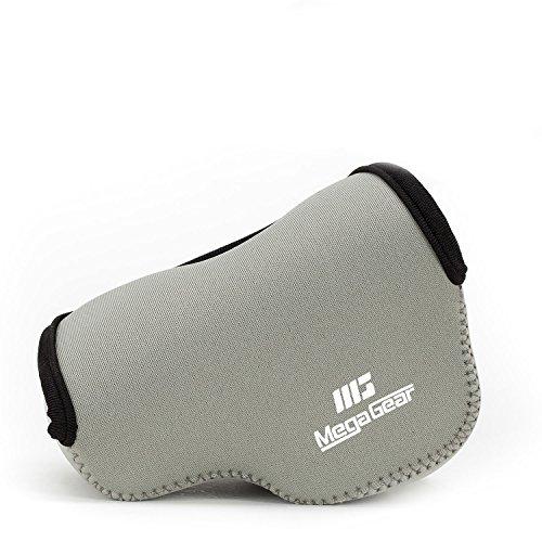 MegaGear Ultraleichte Kameratasche aus Neopren kompatibel mit Sony Alpha A6400, A6500, A6300, A6000 (16-50 mm) - Grau