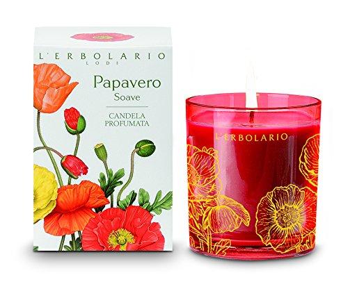 L'Erbolario Papavero Soave Duftkerze, 1er Pack (1 x 1 Stück)