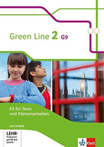 Preisvergleich Produktbild Green Line G9 / Ausgabe ab 2015: Green Line G9 / Fit für Tests und Klassenarbeiten mit Lösungsheft und CD-ROM 6. Klasse G9: Ausgabe ab 2015