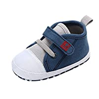 MERICAL Baby Girls Shoes Newborn Cute Boys Canvas Letter First Walkers Soft Sole Shoes