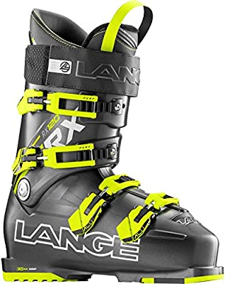 Lange RX 120 - Botas de esquí para hombre, color gris / amarillo, talla 27.5