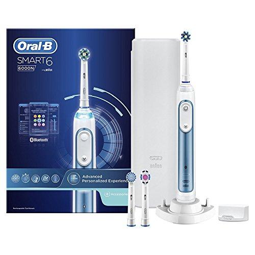 Oral-B Smart 6 6000N - Cepillo de Dientes Eléctrico con Tecnología de Braun 002215ca6160