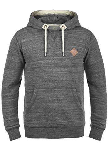 !Solid Kevin Herren Kapuzenpullover Hoodie Pullover Mit Kapuze Und Fleece-Innenseite, Größe:L, Farbe:Grey Melange (8236) Mit Kapuze Herren Fleece