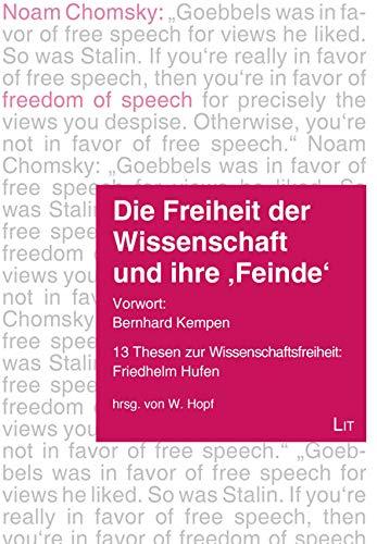 Die Freiheit der Wissenschaft und ihre \'Feinde\': Vorwort: Bernhard Kempen