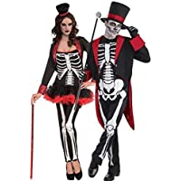 Costumi Halloween Adulti.Costumi Halloween Morte Uomo Adulti Costumi Giochi Amazon It