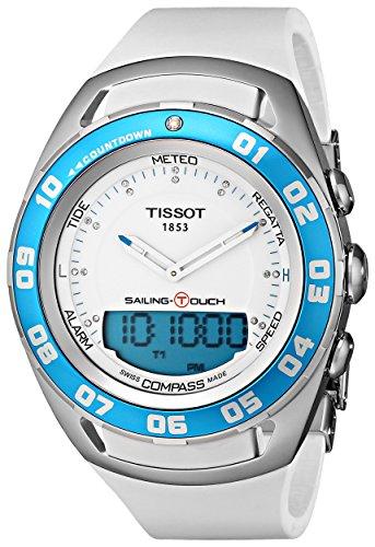 Tissot Femmes TIST0564201701600 Voile-Touch Montre numérique cadran analogique