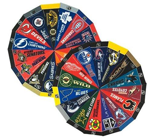 NHL Mini-Wimpel-Set (Alle Teams), 10,2 x 22,9 cm