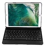 VBESTLIFE Bluetooth 3.0 Tastatur mit Hülle,34H Arbeit Auto Schlaf Wireless Tastatur für iPad Pro 9.7 / Air2(Schwarz)