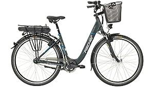 FISCHER FAHRRAEDER E-Bike City Damen ECU 1401, 28 Zoll, 7 Gang, Frontmotor, 522 Wh 71,12 cm (28 Zoll)