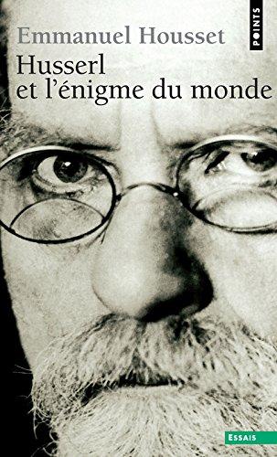 Husserl et l'nigme du monde