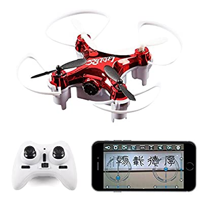 2016 Newest LiDiRC L7HW High Hold Mode(Update L7W)2.4GHZ 6 Axis Mini Wifi FPV 360 Flip RC Quadcopter, With 0.3MP HD Camera Headless RTF Drone (Random:Red,Black)