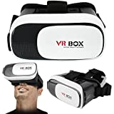 Asab 3D Virtual Reality VR Box 2.0 Gläser Smart Handy Universal Headset Goggle Video Kompaktes Tragbares Design Verstellbare Linse & Focus Kontrollen