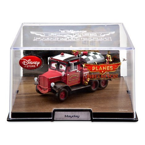In Stock, fast shipping, look at my feedback!!! Disney Store Planes Fire and Rescue MAYDAY!! In 1:43 scale and in display case! (Rescue And Fire Mayday Planes)