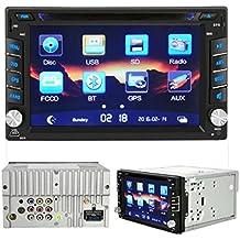Tongshi GPS HD Doble 2 DIN Car DVD Estéreo Bluetooth de radio MP3 + cámara