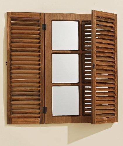 Espejo-de-pared-en-marrn-con-contraventanas-modelo-ADAM-de-madera-60-x-75-cm