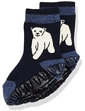 Sterntaler Baby-Jungen Socken Fli Soft Eisbär